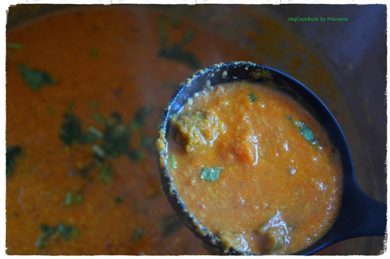 bajji mirchi / banana peppers gravy curry (instant pot, stove top)
