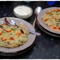 Rava Upma / Semolina Savoury Porridge