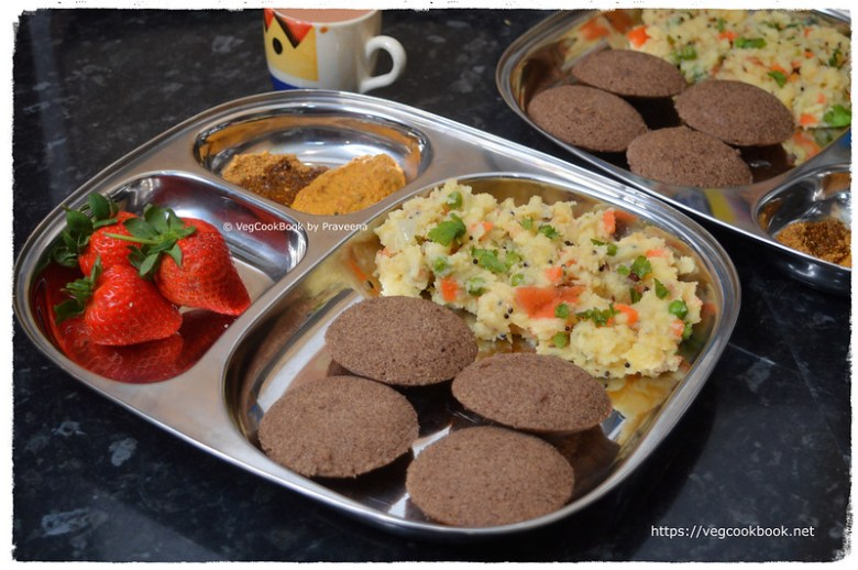 south indian breakfast platter # 3