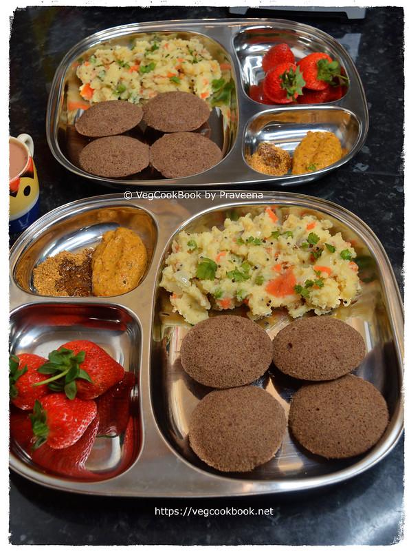 south indian breakfast platter # 3