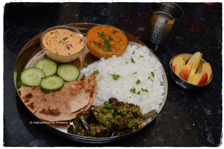 bhojanam / thali / platter 15