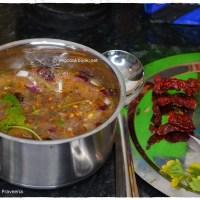 Vankaya Pachi Pulusu / Roasted Eggplant Cold Soup