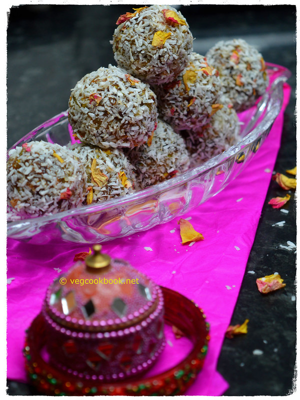 Watermelon Rind Energy Balls (No added Sugar). WFPB dessert recipe.