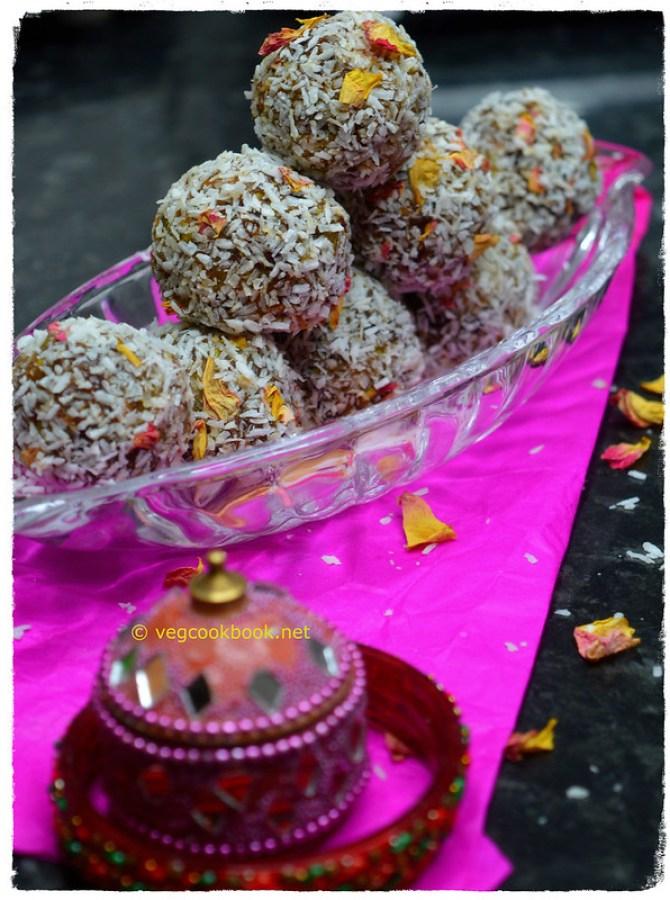 Watermelon Rind Energy Balls (No added Sugar). WFPB dessert recipe.