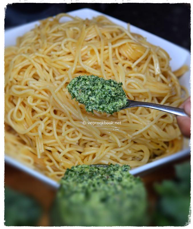 Kale & Walnut Pesto Sauce (Dairy Free) Plant based, low calories, multi purpose recipe