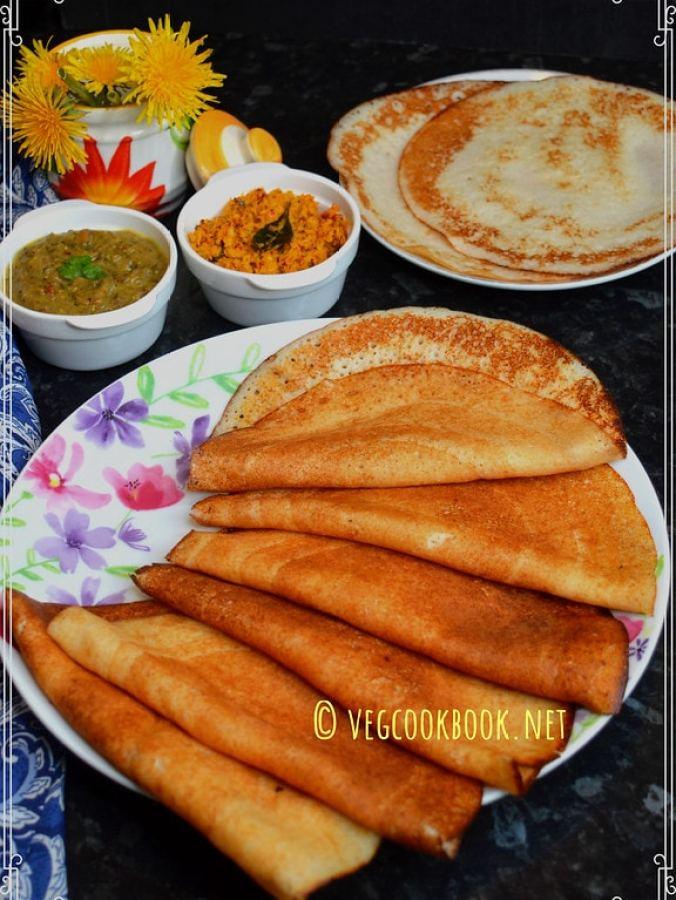 saggubiyyam dosa / sabudana (sago) dosa.South Indian breakfast recipe that needs fermentation.Instant Pot method fermentation with pics,tips.