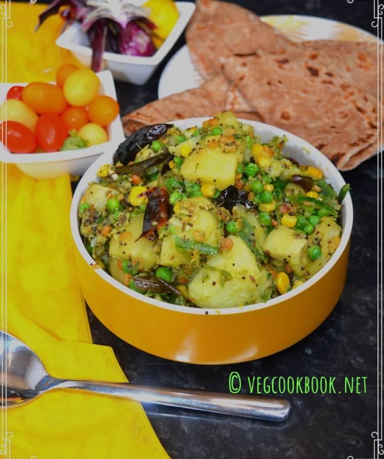 potato curry / aloo tadka south indian style. Instant Pot / Stove Top.Vegan, Plant based, No Onion No Garlic andhra bangaladumpa mudda koora.