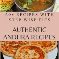 Authentic Andhra Recipes Collection / Telugu Vantalu