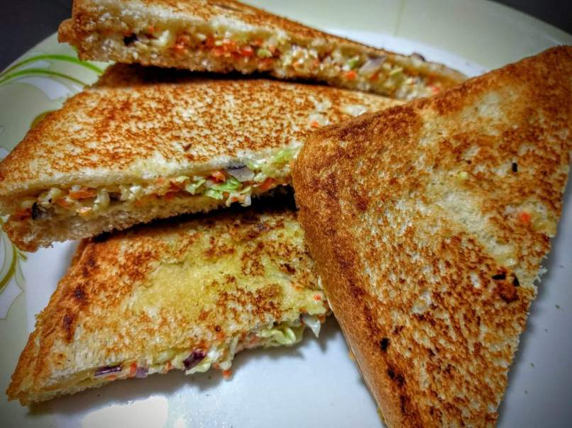 Veg Grilled Cheese Sandwich Recipe Vegecravings