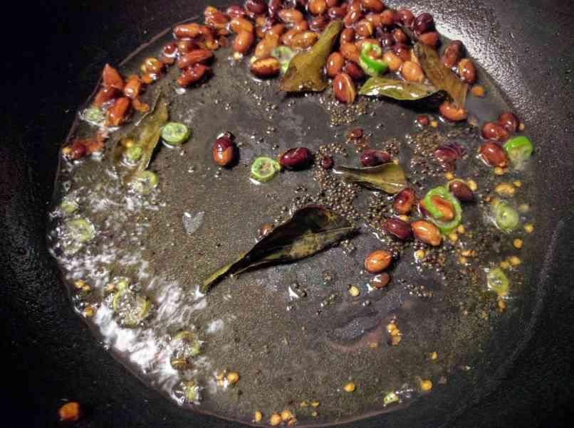 Rava Upma Recipe Instructions
