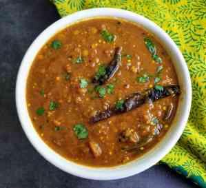 Kathirikai Sambar or Brinjal Sambar Recipe Step By Step Instructions