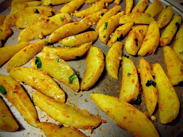 Potato Wedges Recipe Step By Step Instructions 7
