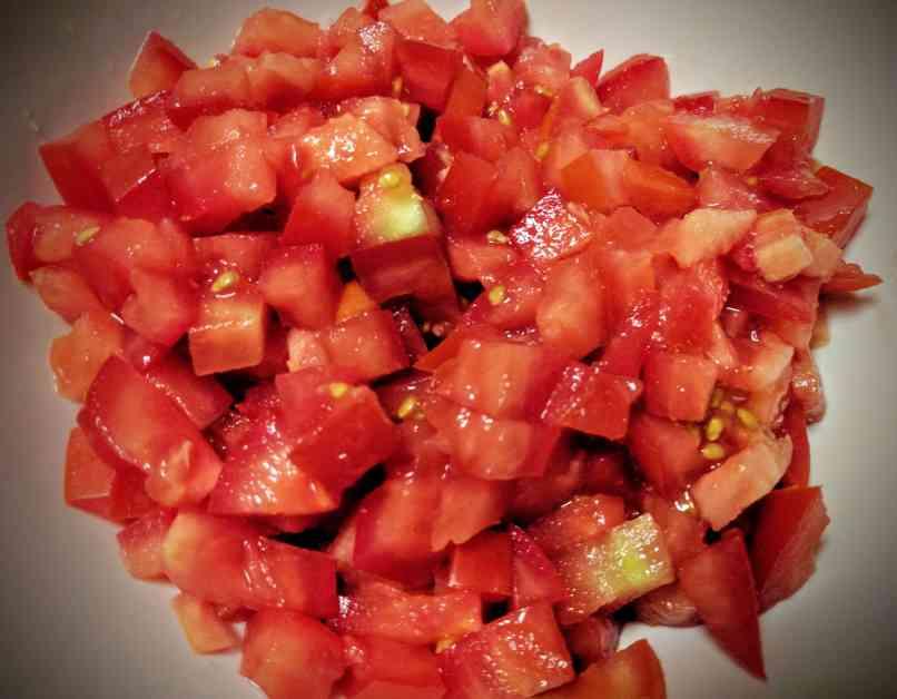 Tomato Basil Bruschetta Recipe Step By Step Instructions 1