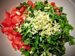 Tomato Basil Bruschetta Recipe Step By Step Instructions 3