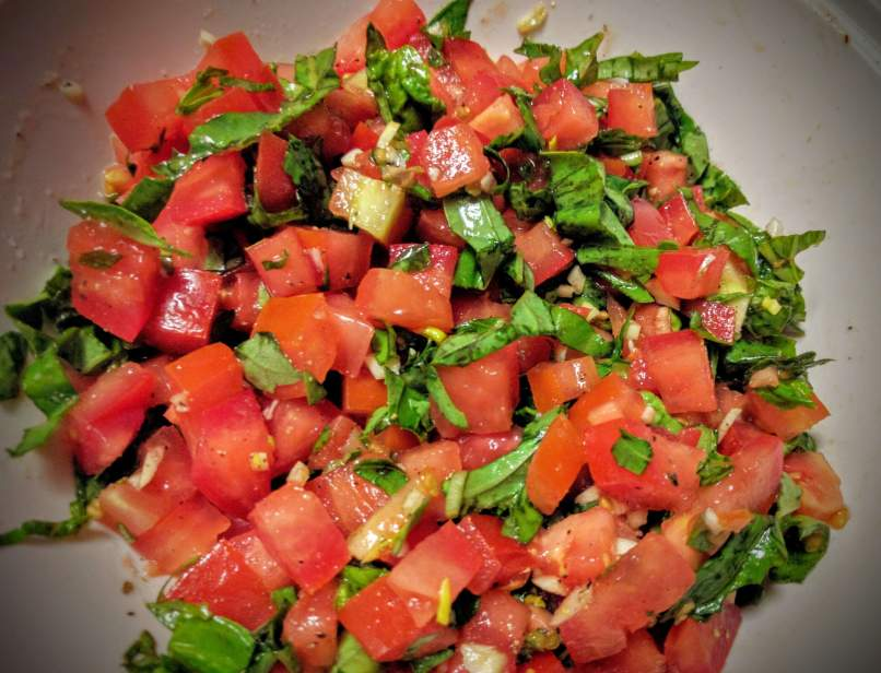 Tomato Basil Bruschetta Recipe Step By Step Instructions 5