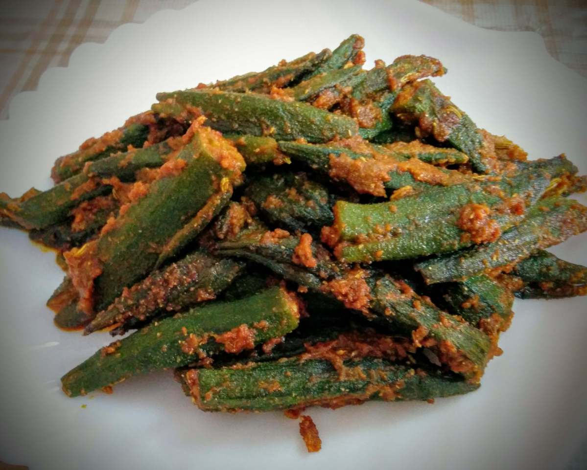 Bharwa Bhindi Recipe (Stuffed Okra)