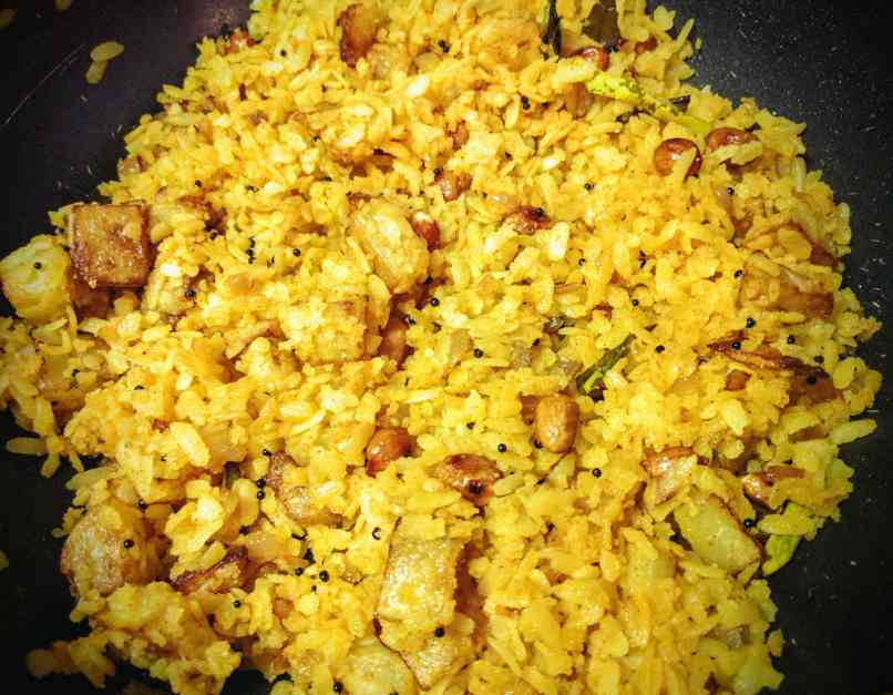 Kanda Batata Poha Recipe Step By Step Instructions 14