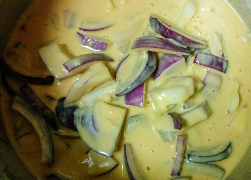 Punjabi Kadhi Pakora Recipe Step By Step Instructions 5