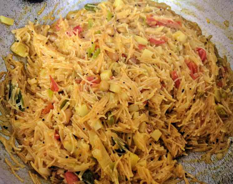 Semiya Upma Recipe Step By Step Instructions 15
