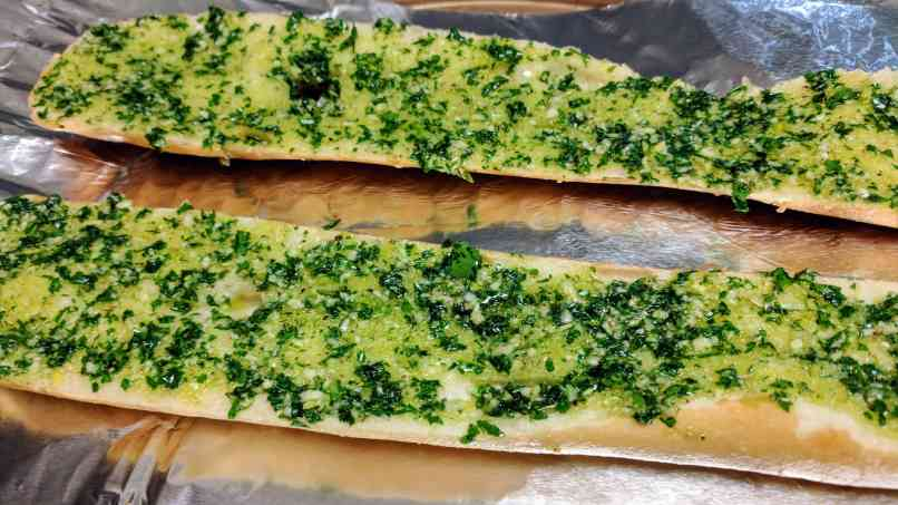 Cheese Garlic Bread Recipe Step By Step Instructions 5
