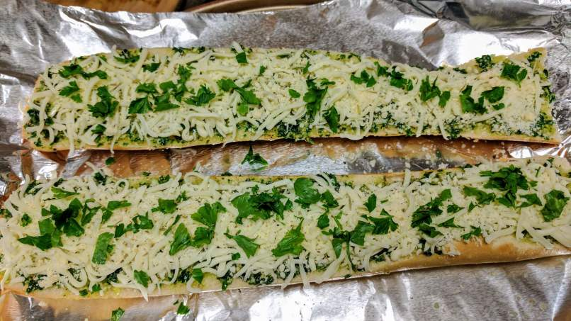 Cheese Garlic Bread Recipe Step By Step Instructions 7