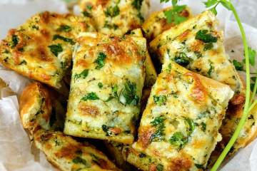 Cheese Garlic Bread Recipe Step By Step Instructions