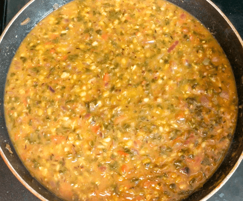 Dal Palak Recipe Step By Step Instructions 15