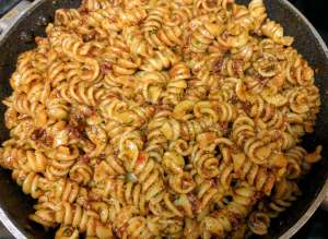 Sun-Dried Tomato And Pesto Pasta Recipe Step By Step Instructions 14