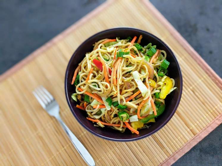 Veg Hakka Noodles Recipe with Step By Step Instructions 17