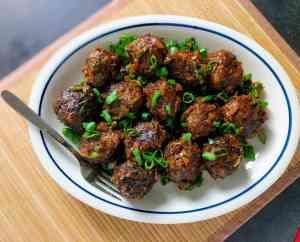 Veg Manchurian Dry Recipe Step By Step Instructions 10