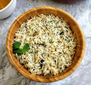 Jeera Rice Recipe Step By Step Instructions