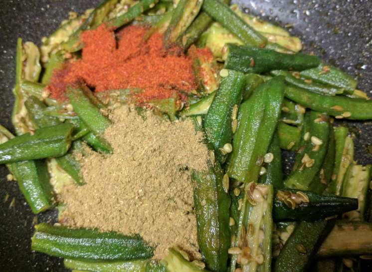 Bhindi Ki Sabzi Recipe Step By Step Instructions 7