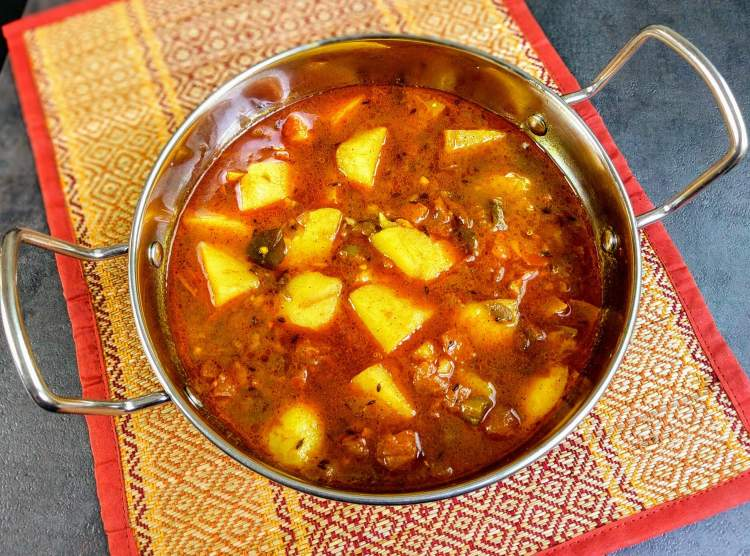 Aloo Tamatar Ki Sabzi Recipe Step By Step Instructions