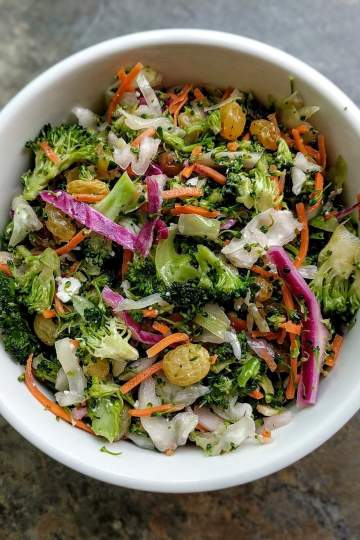 Vegetable Slaw Recipe Step By Step Instructions