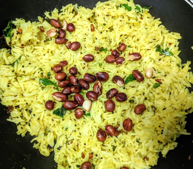 Lemon Rice Recipe Step by Step Instructions 12