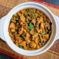 Mix Veg Recipe | Restaurant Style Mixed Vegetable Curry