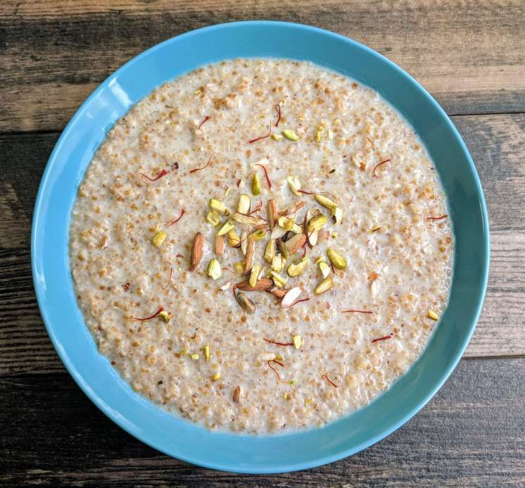 Daliya Kheer Recipe Step By Step Instructions 8