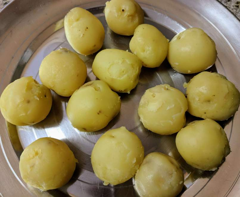 Dum Aloo Recipe Step By Step Instructions 2