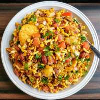 Bhel Puri Recipe | Mumbai Bhel Puri