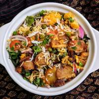 Jodhpuri Kabuli Recipe | Rajasthani Veg Biryani