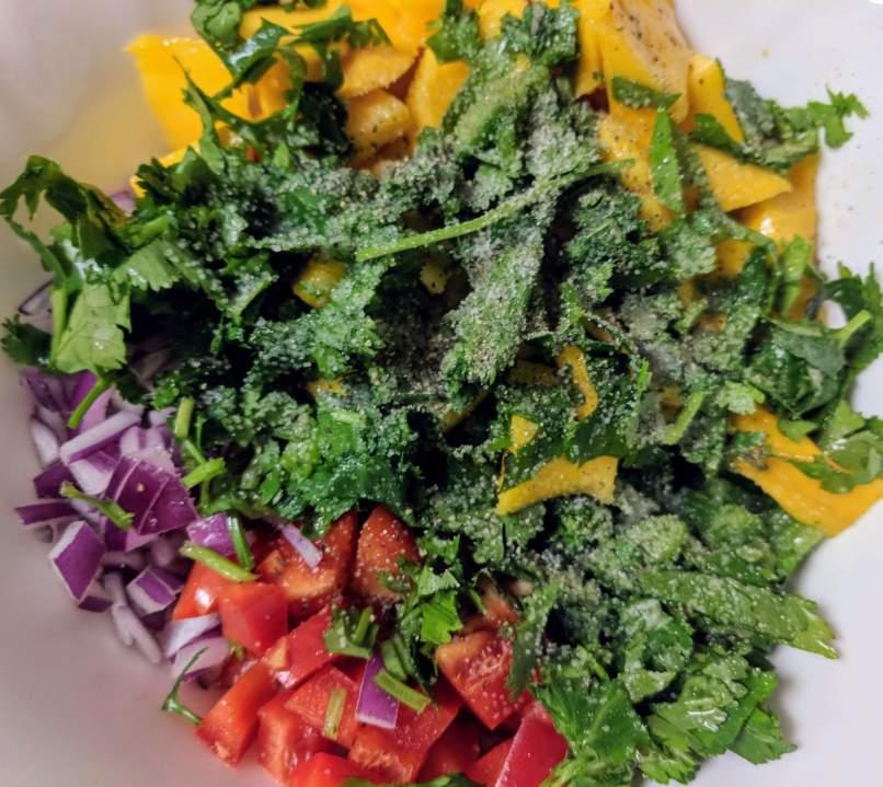 Mango Salsa Recipe Step By Step Instructions 2