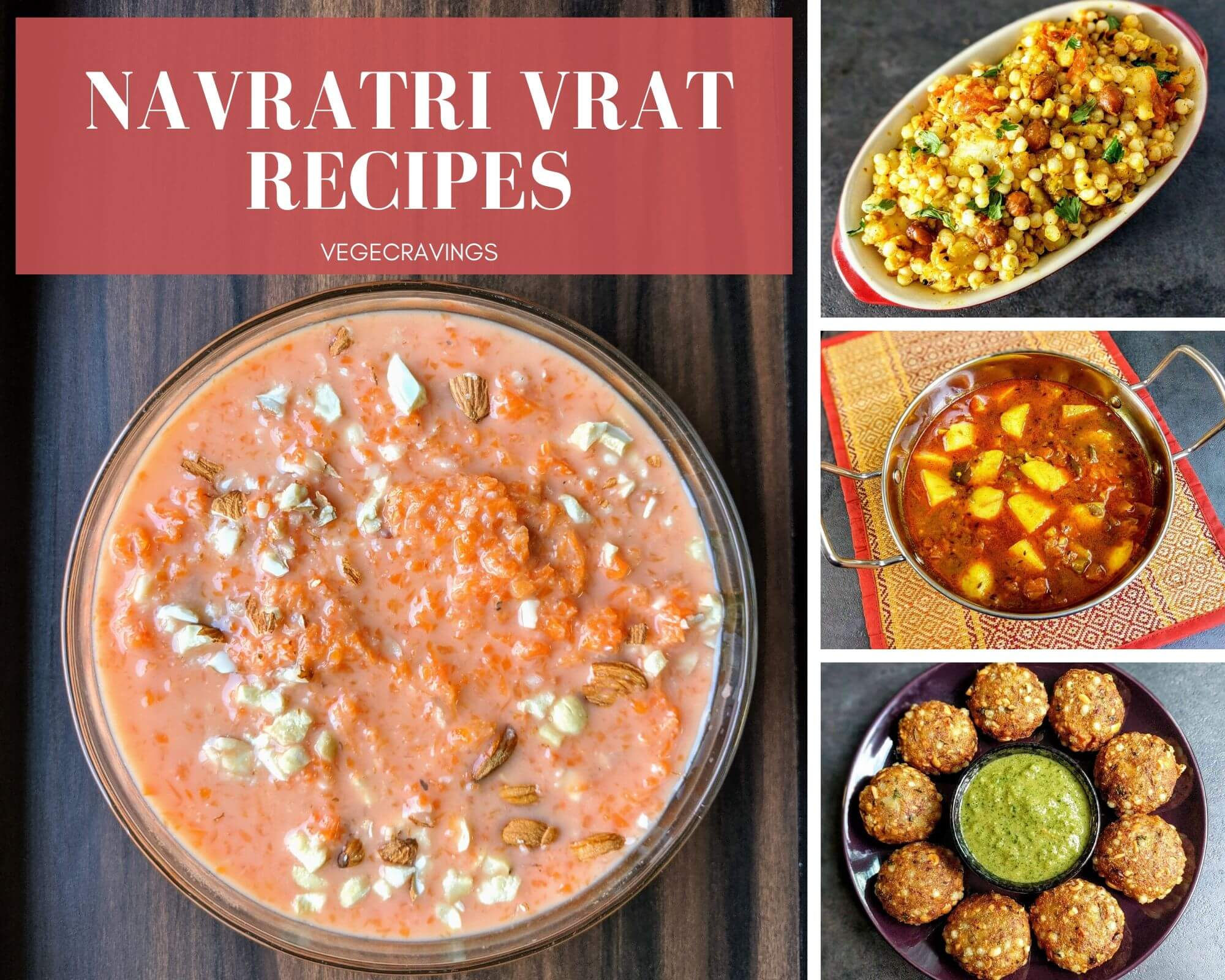 People all over India observe fast for celebrating the festival of Navratri. Checkout these easy & delicious Navratri food recipes for vrat.