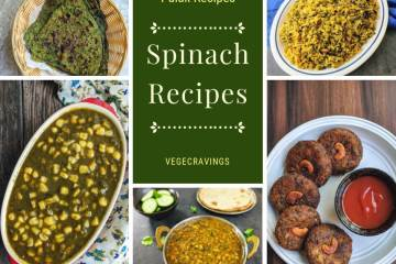 Palak Recipes Collection | Spinach Recipes