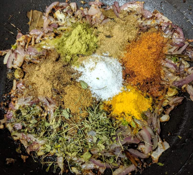 Veg Kerala Biryani Recipe Step By Step Instructions 7