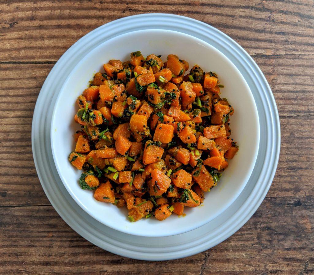 Gajar Ki Sabji Recipe Step By Step Instructions