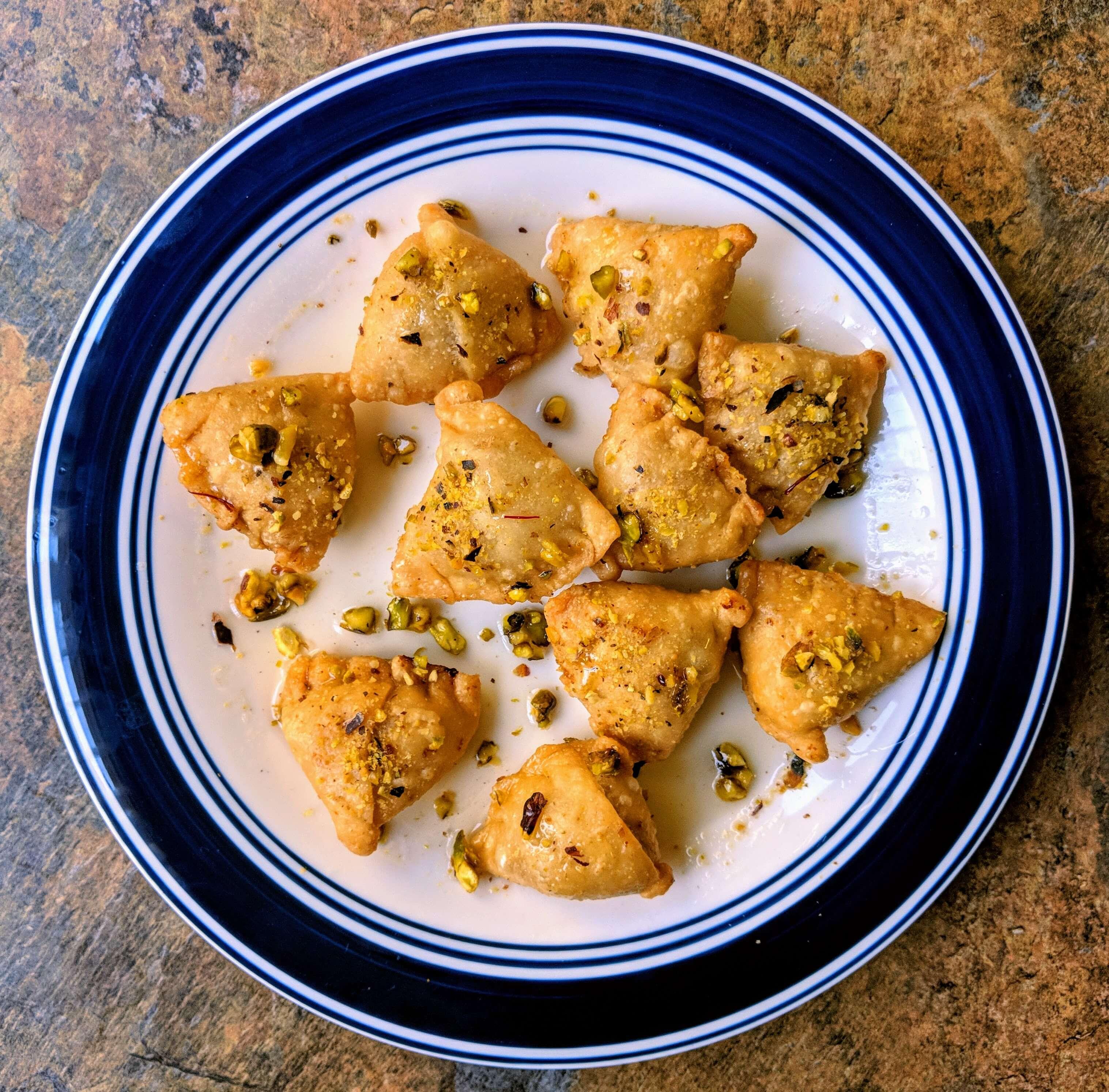 Mawa Samosa Recipe Step By Step Instructions