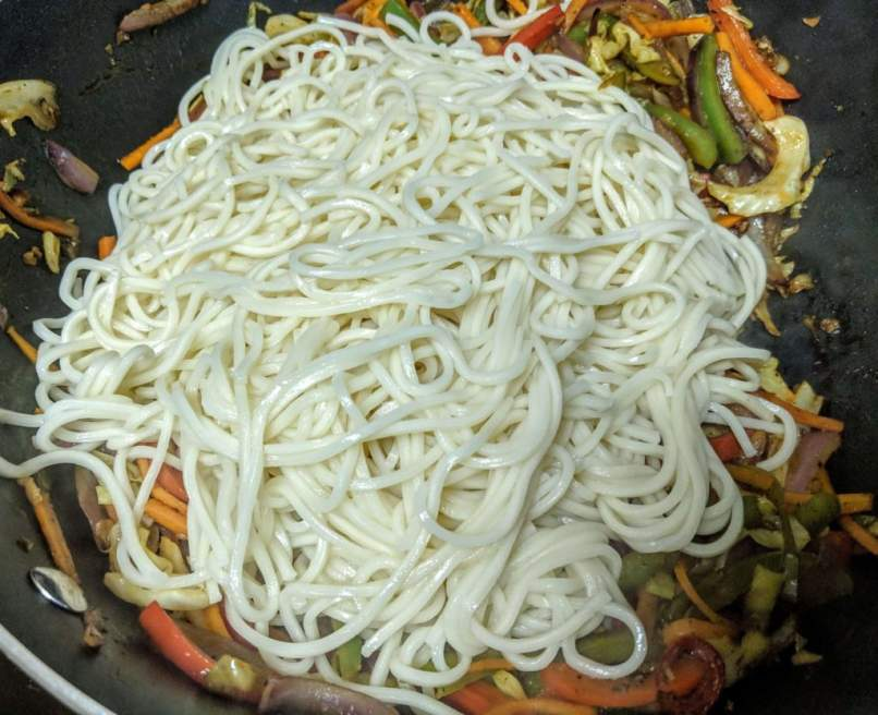 Vegetarian Chowmein Recipe Step By Step Instructions 8