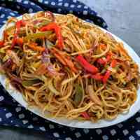 Veg Chow Mein Recipe | Indian Chinese Style Chowmein