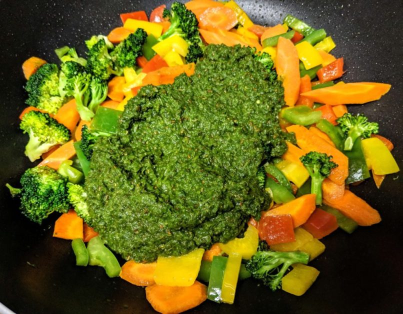 Vegetarian Thai Green Curry Recipe Step By Step Instructions 15