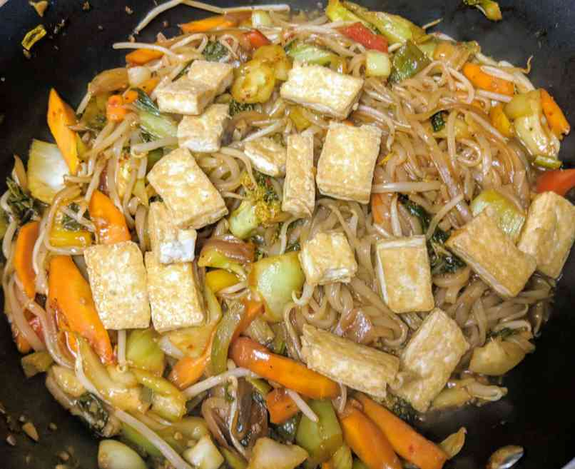 Vegan Pad Thai Recipe Step By Step Instructions 19
